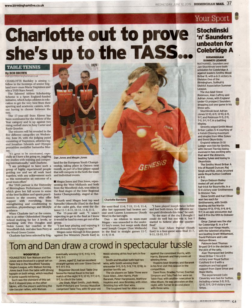 Birmingham Mail June 12th 2019